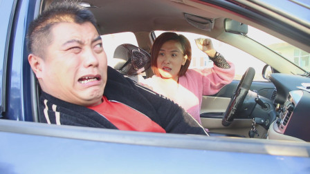搞笑剧:二货打车,上车后又是唱歌又是放屁,