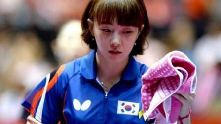 国乒第一美女投靠韩国,2年时间坐稳一姐位置,