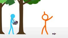 黑色幽默动画,钱丢地上能生长出树,没有好奇