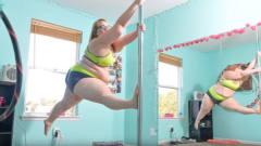 体重228斤的她,成为世界最胖钢管舞女郎,气质