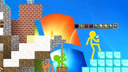 我的世界火柴人动画:火柴人王国!搞笑视频