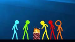我的世界火柴人动画:神秘方块的交接仪式!搞
