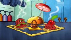 搞笑动画:小海绵一个人玩过家家游戏,都能把