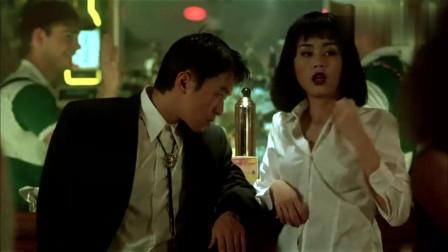 星爷和妹子在酒吧跳舞,怎料美女是山口组老大