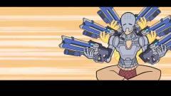 守望先锋搞笑动画:当英雄们互换武器结局会怎