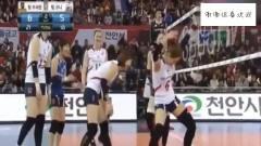 韩国颜值女排队员赛场疯狂热舞,裁判表示很无