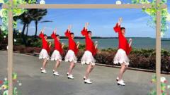 热门广场舞《微笑依然美妙》深情对唱情歌 32步