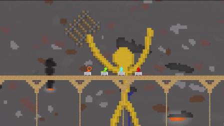 火柴人游戏动画:星际迷航之太空站,搞笑视频
