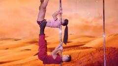 中国达人秀:双人高难度钢管舞《大话西游》,