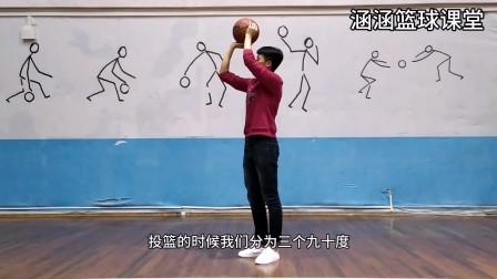 篮球视频教学:投篮动作看似简单,但想要达到标准,这几个细节需要注意
