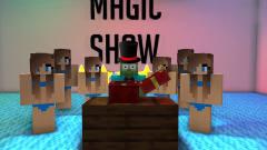 我的世界MC动画:怪物学校《魔术表演》,僵尸猪