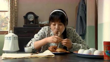 美女怀孕后食欲大增,一个人干掉整只烧鸡,吃