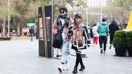 三里屯街拍:为什么女生都不穿秋裤?