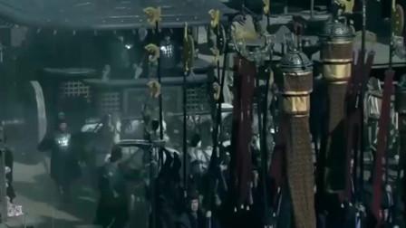 楚汉传奇 秦始皇巡视 被刘邦看到激动不已 做男人就得这样