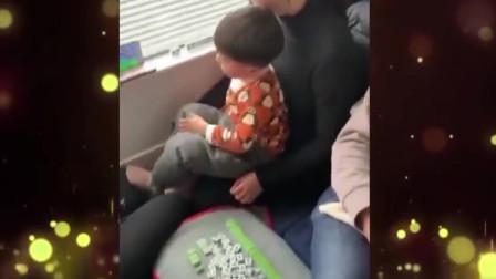 家庭幽默录像:大妈大爷告诉你,能打麻将的地