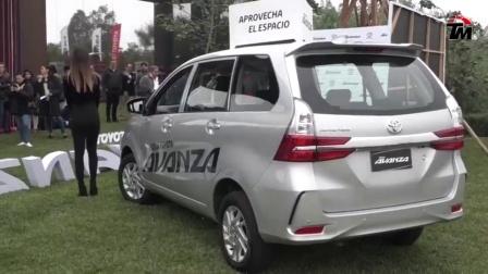 丰田全新七座MPV, 美女带你体验2020款丰田Avanza,