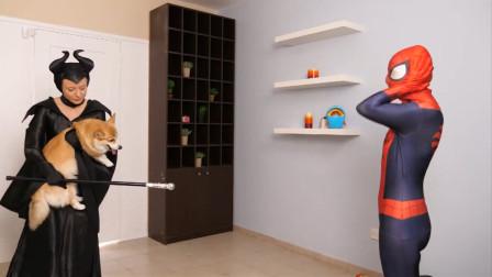 沉睡女皇恶搞蜘蛛侠,蜘蛛侠偷了法杖将女皇变