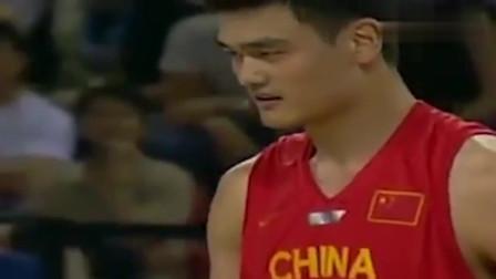 回顾:2004年奥运会中国男篮经典比赛,N*A巅峰的姚明谁都不怂