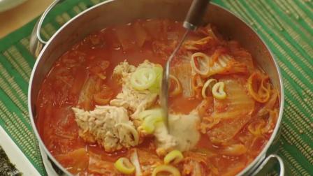 美食:韩国人最爱的泡菜汤,有妈妈的味道,美
