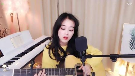 #音乐最前线#小姐姐自弹自唱演绎《你给我听好》