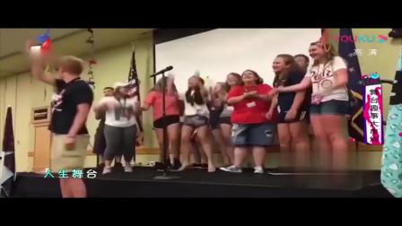 家庭幽默录像:初上人生舞台,千姿百态,这舞