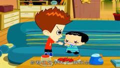 家有儿女搞笑动画:小雨刘星挣玩具玩,小雪高