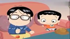 家有儿女搞笑动画:小雨真的了真相,说自己真
