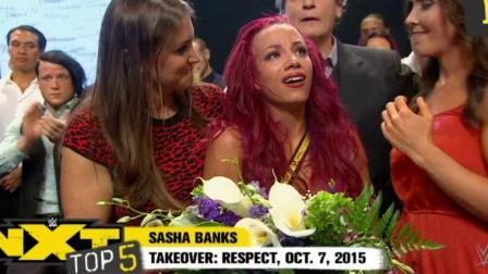 WWE:NXT五大选手升入主秀,红发莎夏虐心痛哭