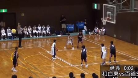 日本小学篮球比赛,上演神级绝杀,连N*A都难得一见