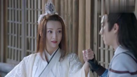许凯把坤山剑插入烧鸡中跪拜,美女剑灵被王陆
