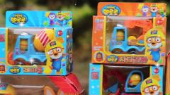 儿童趣味卡通小企鹅系列汽车和玩偶玩具