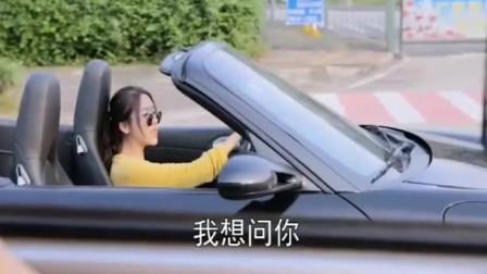 搞笑视频:开跑车的女司机和货车司机的互动对