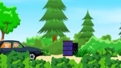 吃鸡搞笑动画:徒手变出两颗雷,草地上演飙车