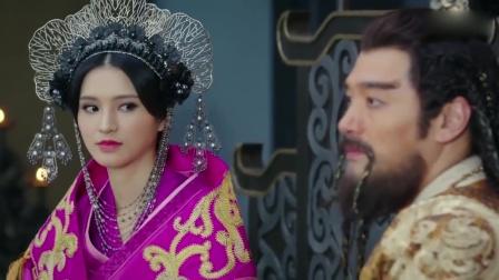 帝王刚娶了第一美女,怎料下秒舞女拿开扇子后