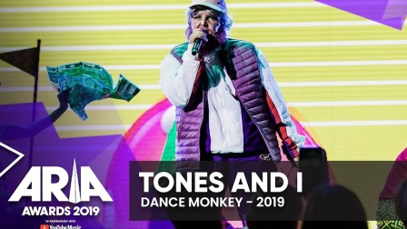 Tones And I《Dance Monkey》澳洲ARIAs音乐奖现场