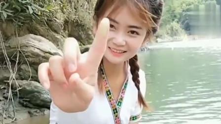 缅甸美女太穷了吧,化妆品只能靠自己手工制作
