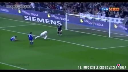 多角度回看, 当年贝克汉姆传给罗纳尔多的这球