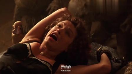 木乃伊:美女被魔鬼控制,男主不顾危险闯入营