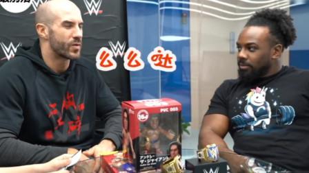 """WWE:灵魂拷问?凯撒罗伍兹""""口无遮拦""""爆料W"""