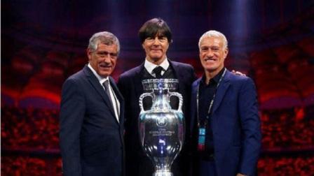 三队主教练忍不住苦笑!德、法、葡被分入欧洲杯超级死亡之组#欧洲杯分组出炉#