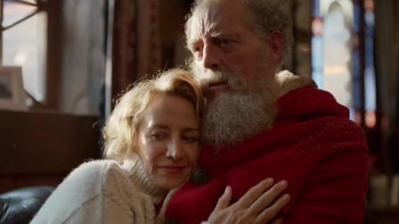 英国创意圣诞节广告:圣诞老婆婆出场,直升飞
