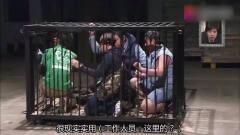日本综艺恶搞艺人,狮子从笼子里跑出来,艺人