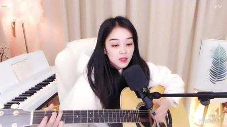 #音乐最前线#自弹自唱的女生太有魅力了
