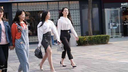 时尚 街拍,闺蜜相约去逛街,一定要好好的搭配