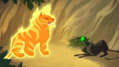 搞笑动画短片:老虎吃了燃烧果实,从此有了超