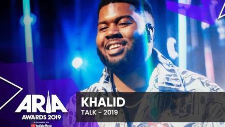 Khalid热单《Talk》澳洲ARIAs音乐奖现场