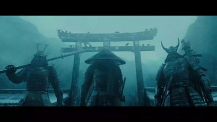 美女单挑三个巨大的日本武士,日本武士竟然用