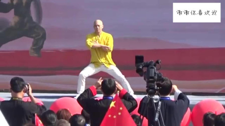 陈式太极拳名家王战军老师在全国太极拳公开赛
