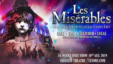 悲惨世界西区音乐剧2019全明星音乐会| Les Misera