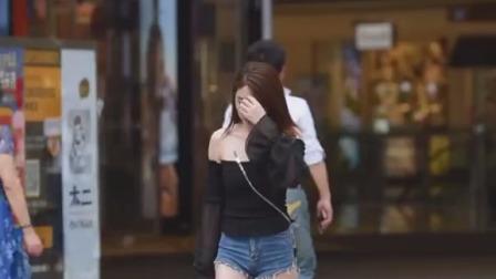 街拍:女生不要太瘦,胖一点挺好的